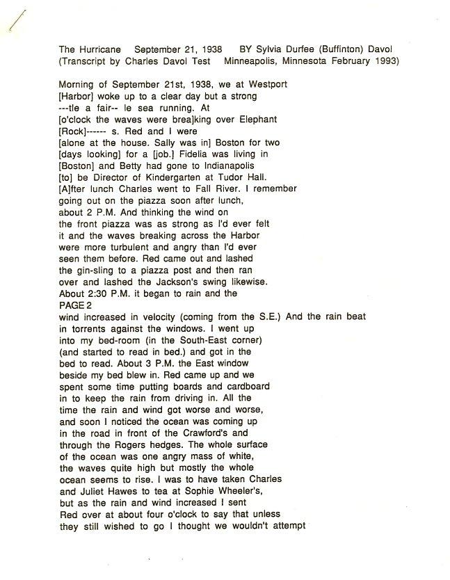 1938 Hurricane Transcript p1-2