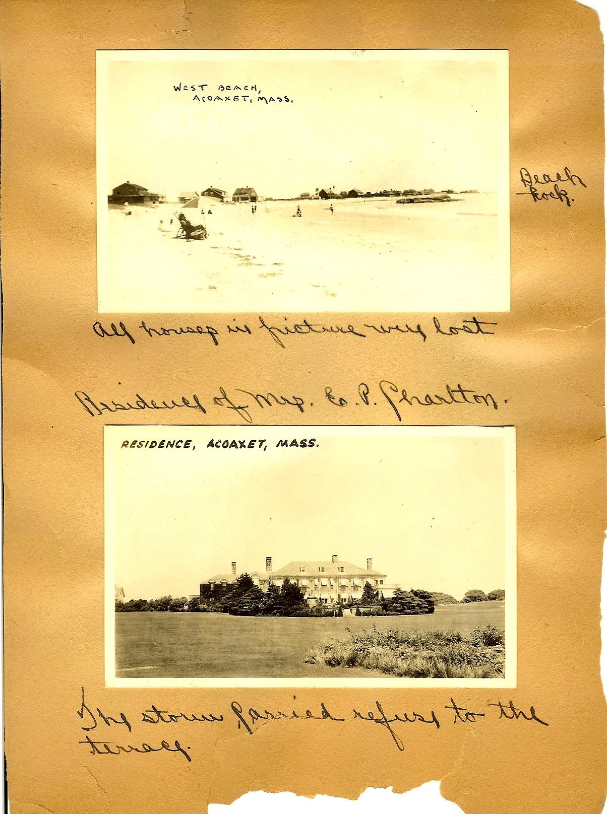 The 1938 Hurricane photos p21