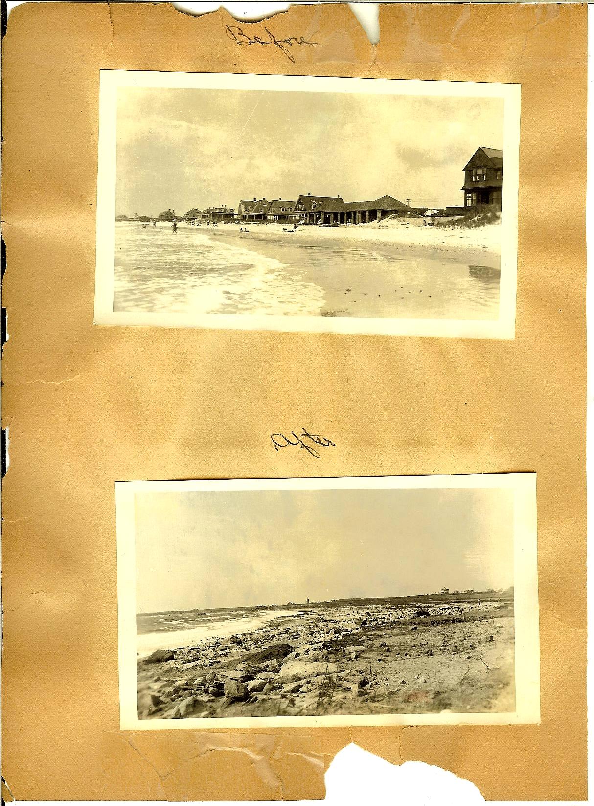 The 1938 Hurricane photos p24