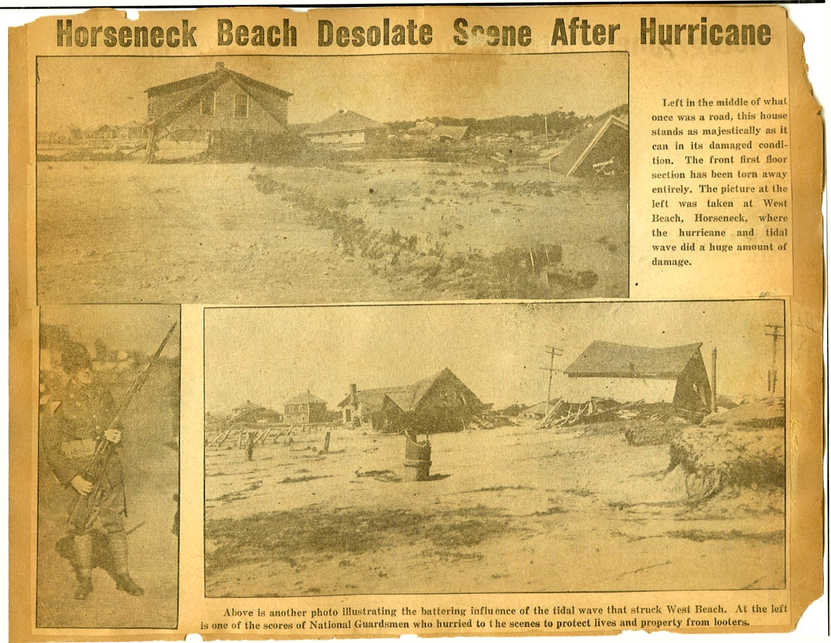 The 1938 Hurricane photos p30