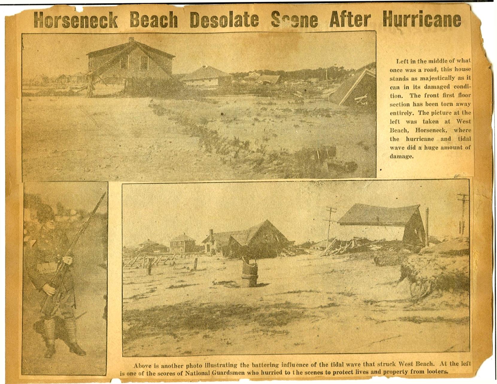 The 1938 Hurricane photos p30