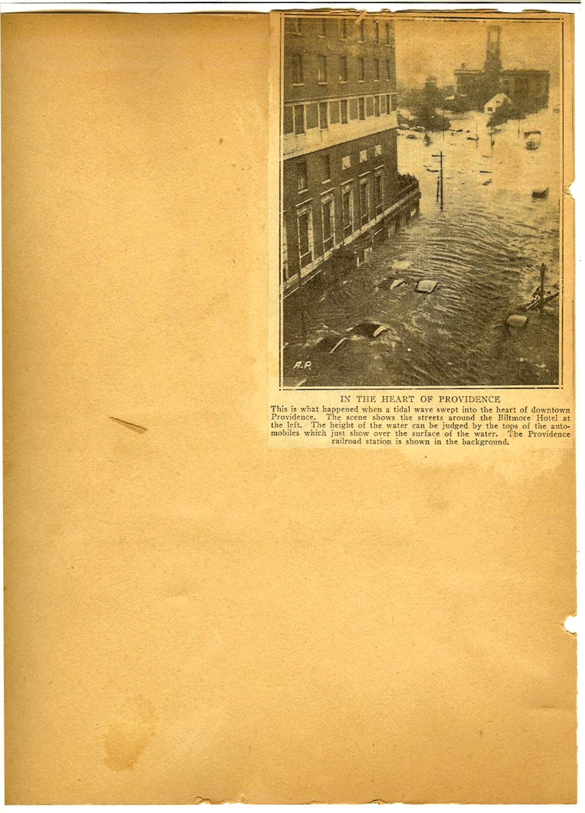 The 1938 Hurricane photos p38