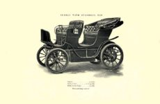 1903 The Vehicle Equipment Co. ELECTRIC VEHICLES HIGH GRADE ELECTRIC AUTOMOBILES PLEASURE VEHICLES COMMERCIAL VEHICLES VEHICLE EQUIPMENT COMPANY The RAINIER COMPANY, General Sales Agents New York, New York 11″x7.25″ page 10
