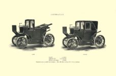 1903 The Vehicle Equipment Co. ELECTRIC VEHICLES HIGH GRADE ELECTRIC AUTOMOBILES PLEASURE VEHICLES COMMERCIAL VEHICLES VEHICLE EQUIPMENT COMPANY The RAINIER COMPANY, General Sales Agents New York, New York 11″x7.25″ page 11