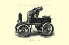 1903 The Vehicle Equipment Co. ELECTRIC VEHICLES HIGH GRADE ELECTRIC AUTOMOBILES PLEASURE VEHICLES COMMERCIAL VEHICLES VEHICLE EQUIPMENT COMPANY The RAINIER COMPANY, General Sales Agents New York, New York 11″x7.25″ page 12
