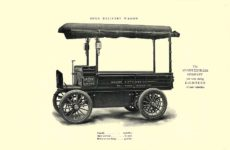 1903 The Vehicle Equipment Co. ELECTRIC VEHICLES HIGH GRADE ELECTRIC AUTOMOBILES PLEASURE VEHICLES COMMERCIAL VEHICLES VEHICLE EQUIPMENT COMPANY The RAINIER COMPANY, General Sales Agents New York, New York 11″x7.25″ page 14