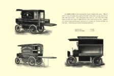 1903 The Vehicle Equipment Co. ELECTRIC VEHICLES HIGH GRADE ELECTRIC AUTOMOBILES PLEASURE VEHICLES COMMERCIAL VEHICLES VEHICLE EQUIPMENT COMPANY The RAINIER COMPANY, General Sales Agents New York, New York 11″x7.25″ page 16