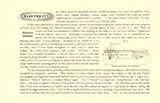 1903 The Vehicle Equipment Co. ELECTRIC VEHICLES HIGH GRADE ELECTRIC AUTOMOBILES PLEASURE VEHICLES COMMERCIAL VEHICLES VEHICLE EQUIPMENT COMPANY The RAINIER COMPANY, General Sales Agents New York, New York 11″x7.25″ page 2