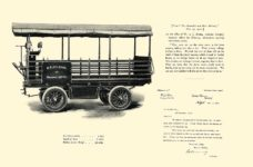 1903 The Vehicle Equipment Co. ELECTRIC VEHICLES HIGH GRADE ELECTRIC AUTOMOBILES PLEASURE VEHICLES COMMERCIAL VEHICLES VEHICLE EQUIPMENT COMPANY The RAINIER COMPANY, General Sales Agents New York, New York 11″x7.25″ page 22