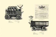 1903 The Vehicle Equipment Co. ELECTRIC VEHICLES HIGH GRADE ELECTRIC AUTOMOBILES PLEASURE VEHICLES COMMERCIAL VEHICLES VEHICLE EQUIPMENT COMPANY The RAINIER COMPANY, General Sales Agents New York, New York 11″x7.25″ page 31