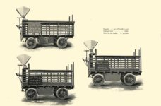 1903 The Vehicle Equipment Co. ELECTRIC VEHICLES HIGH GRADE ELECTRIC AUTOMOBILES PLEASURE VEHICLES COMMERCIAL VEHICLES VEHICLE EQUIPMENT COMPANY The RAINIER COMPANY, General Sales Agents New York, New York 11″x7.25″ page 32
