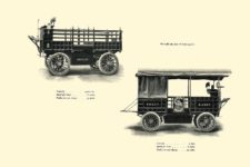 1903 The Vehicle Equipment Co. ELECTRIC VEHICLES HIGH GRADE ELECTRIC AUTOMOBILES PLEASURE VEHICLES COMMERCIAL VEHICLES VEHICLE EQUIPMENT COMPANY The RAINIER COMPANY, General Sales Agents New York, New York 11″x7.25″ page 34