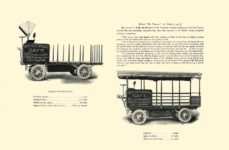1903 The Vehicle Equipment Co. ELECTRIC VEHICLES HIGH GRADE ELECTRIC AUTOMOBILES PLEASURE VEHICLES COMMERCIAL VEHICLES VEHICLE EQUIPMENT COMPANY The RAINIER COMPANY, General Sales Agents New York, New York 11″x7.25″ page 35