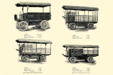 1903 The Vehicle Equipment Co. ELECTRIC VEHICLES HIGH GRADE ELECTRIC AUTOMOBILES PLEASURE VEHICLES COMMERCIAL VEHICLES VEHICLE EQUIPMENT COMPANY The RAINIER COMPANY, General Sales Agents New York, New York 11″x7.25″ page 43