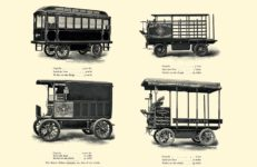 1903 The Vehicle Equipment Co. ELECTRIC VEHICLES HIGH GRADE ELECTRIC AUTOMOBILES PLEASURE VEHICLES COMMERCIAL VEHICLES VEHICLE EQUIPMENT COMPANY The RAINIER COMPANY, General Sales Agents New York, New York 11″x7.25″ page 44