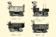 1903 The Vehicle Equipment Co. ELECTRIC VEHICLES HIGH GRADE ELECTRIC AUTOMOBILES PLEASURE VEHICLES COMMERCIAL VEHICLES VEHICLE EQUIPMENT COMPANY The RAINIER COMPANY, General Sales Agents New York, New York 11″x7.25″ page 45