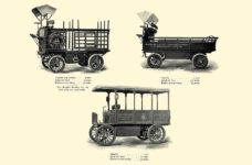 1903 The Vehicle Equipment Co. ELECTRIC VEHICLES HIGH GRADE ELECTRIC AUTOMOBILES PLEASURE VEHICLES COMMERCIAL VEHICLES VEHICLE EQUIPMENT COMPANY The RAINIER COMPANY, General Sales Agents New York, New York 11″x7.25″ page 48