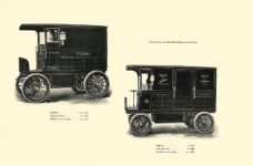 1903 The Vehicle Equipment Co. ELECTRIC VEHICLES HIGH GRADE ELECTRIC AUTOMOBILES PLEASURE VEHICLES COMMERCIAL VEHICLES VEHICLE EQUIPMENT COMPANY The RAINIER COMPANY, General Sales Agents New York, New York 11″x7.25″ page 50