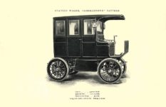 1903 The Vehicle Equipment Co. ELECTRIC VEHICLES HIGH GRADE ELECTRIC AUTOMOBILES PLEASURE VEHICLES COMMERCIAL VEHICLES VEHICLE EQUIPMENT COMPANY The RAINIER COMPANY, General Sales Agents New York, New York 11″x7.25″ page 6