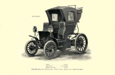 1903 The Vehicle Equipment Co. ELECTRIC VEHICLES HIGH GRADE ELECTRIC AUTOMOBILES PLEASURE VEHICLES COMMERCIAL VEHICLES VEHICLE EQUIPMENT COMPANY The RAINIER COMPANY, General Sales Agents New York, New York 11″x7.25″page 9