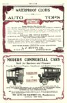1906 1 AUTO CAR Electric MODERN COMMERCIAL CARS GASOLINE AND ELECTRIC THE AUTO CAR EQUIPMENT CO. Buffalo, New York MOTOR January 1906 10″x14″ page 143