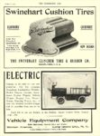 1906 1 17 VEHICLE EQUIPMENT Electric Truck ELECTRIC Vehicle Equipment Company Long Island City, N.Y. THE HORSELESS AGE January 17, 1906 8.5″x12″ page 5
