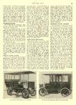 1908 1 23 ELECTRIC Truck Article 1908 STUDEBAKER Electric Bank Wagon HAULS GOLD AND SILVER Studebaker Automobile Company South Bend, IND MOTOR AGE January 23, 1908 8.5″x12″ page 23