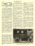 1908 4 8 ELECTRIC Truck Article 1908 STUDEBAKER Electric Ambulance U.S. Naval Hospital at Washington Studebaker Automobile Company South Bend, IND THE HORSELESS AGE April 8, 1908 8.25″x11.5″ page 413
