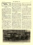 1909 7 28 ELECTRIC Truck Article Electric Trucking at a Big Textile Works THE HORSELESS AGE July 28, 1909 8.5″x11.75″ page 101