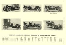 1909 12 29 LANSDEN Electric Electric Commercial Vehicles Exhibited At Grand Central Palace THE HORSELESS AGE December 29, 1909 University of Minnesota Library 8.25″x11.5″ page 760