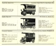 1910 ELECTRIC COMMERCIAL WAGONS. COUPLE-GEAR LANSDEN COMMERCIAL MoToR's 1910 MoToR CAR DIRECToRY Published By MoToR, New York 10″x7.25″ page 167