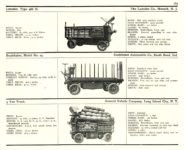 1910 MOTORS Electric Truck page 169 1910 ELECTRIC COMMERCIAL WAGONS. LANSDEN STUDEBAKER GENERAL VEHICLE CO MoToR's 1910 MoToR CAR DIRECToRY Published By MoToR, New York 10″x7.25″ page 169