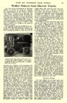1910 12 WALKER Electric Truck Walker Balance Gear Electric Trucks Automobile Maintenance & Manufacturing Co. Chicago, ILL AUTOMOBILE TRADE JOURNAL December 1910 6.25″x10″ page 197