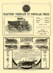 1911 3 27 M & P Electric Truck The M & P Electric Truck ELECTRIC VEHICLES POPULAR PRICES M & P Electric Vehicle Co. Detroit, MICH MOTOR AGE March 27, 1911 8.5″x12″ page 97