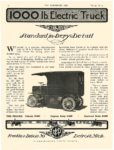 1912 7 24 M & P Electric Truck 1000 lb. Electric Truck M & P Electric Vehicles Detroit, MICH THE HORSELESS AGE July 24, 1912 8.5″x11.5″ page 10
