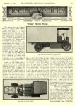 "1913 9 11 URBAN Electric Truck ""Urban"" Electric Trucks Kentucky Wagon Mfg. Co. Louisville, KY THE HORSELESS AGE September 11, 1912 8.5″x12″ page 403"