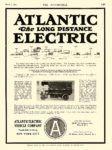 1916 3 2 ATLANTIC The LONG DISTANCE ELECTRIC Atlantic Vehicle Company New York City THE AUTOMOBILE March 2, 1916 8.5″x11.75″ page 149