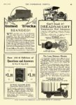 1916 3 1 ATLANTIC Electric Truck The Long Distance Electric Atlantic Electric Vehicle Co. Newark, New Jersey THE COMMERCIAL VEHICLE March 1, 1916 8.25″12″ page 49