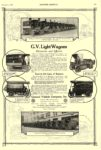 1916 12 2 G. V. Electric Truck G. V. Light Wagons Used in 131 Lines of Business GENERAL VEHICLE COMPANY, Inc. Long Island City, New York SCIENTIFIC AMERICAN December 2, 1916 10.25″x15.25″ page 508