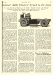 1923 6 14 AUTOCAR Electric Truck Autocar Adds Electric Truck to Its Line MOTOR AGE June 14, 1923 University of Minnesota Library 8.5″x11.5″page 17