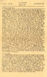 "1945 2 23 LENAWEEKLY BULL PA 195 HORN U.S.S. Lenawee APA-195 23 February 1945 8""x13"" page 1"