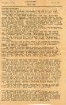 "1945 1 4 LENAWEEKLY BULL PA 195 HORN U.S.S. Lenawee APA-195 4 January 1945 8""x13"" page 1"