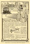 1911 WAVERLEY The Silent Waverly The Waverly Company Indianapolis, Indiana HARPER'S MAGAZINE ADVERTISER 6.5″x9.5″