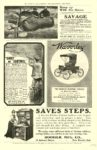 1901 WAVERLEY Electric The Perfect Electric Vehicle American Bicycle Company WAVERLEY AUTOMOBILE DEP'T Indianapolis, IND MUNSEY'S MAGAZINE 1901 6.5″x9.75″