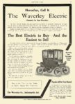1908 10 15 WAVERLEY Electric Four Passenger Victoria Coupe The Waverley Co Indianapolis, IND MOTOR AGE October 15, 1908 8.5″x12″ page 61