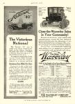 1909 11 18 WAVERLEY Electric Close the Waverley Sales In Your Community! THE WAVERLEY COMPANY Indianapolis, IND MOTOR AGE November 18, 1909 8.5″x12″ page 102