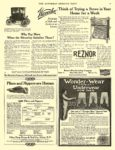 1909 10 9 WAVERLEY Electric Why Pay More The Waverley Company Indianapolis, IND THE SATURDAY EVENING POST October 9, 1909 10″x13.5″ page 55