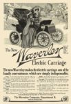 1909 WAVERLEY Electric The New Waverley Electric Carriage The Waverley Company, Dept B Indianapolis, IND 1909 5.5″x7.25″