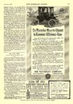 1910 11 5 WAVERLEY Electric The Waverley Means the Utmost In Economy-Efficiency-Ease THE WAVERLEY COMPANY Indianapolis, IND THE LITERARY DIGEST November 5, 1910 8.5″x12″ page 809