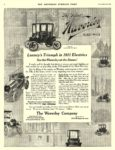 1910 12 31 WAVERLEY Electric Luxury's Triumph in 1911 Electrics The Waverley Company Indianapolis, IND THE SATURDAY EVENING POST December 31, 1910 10.25″x13.5″ page 2